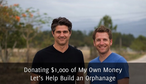 Donating $1,000 of My Own Money – Let's Help Build an Orphanage