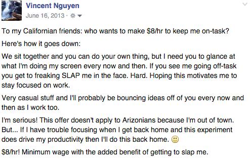Slap Facebook Update