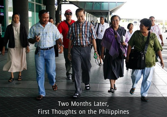 Two Months Later, First Thoughts on the Philippines